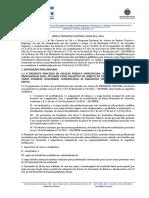 Edital Pronatec SCS