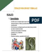 Uso de Envases y Embalajes