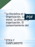 La Disciplina en La Organización