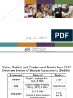 2017 Statewide Assessment Results Presentation