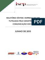 Comunicação Social Relatório Síntese2014 V1