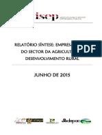 Agricultura Relatório Síntese 2014 V1