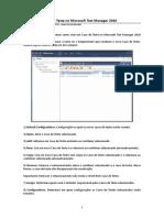 Criando Um Caso de Teste No Microsoft Test Manager 2010