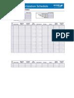 Loan Amortization Schedule 0
