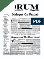 The Forum Gazette Vol. 4 Nos. 14 & 15 August 1-31, 1989