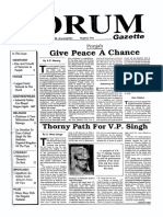 The Forum Gazette Vol. 5 No. 1 January 1-15, 1990
