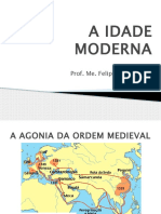 A Idade Moderna - Resumo