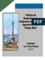 Calculo de Geopresiones- Calibracion de Ventana Operacion en TR Argentina 2015 Final REV2