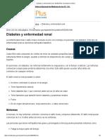 Diabetes y Enfermedad Renal