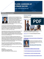 Goldman Sachs Campus Newsletter - July 2017