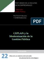 La Planificacion Estrategica de Acuerdo Al CEPLAN