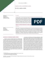 Diagnóstico y Estratificación de La Angina Estable