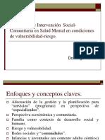 Estrategias de Intervención Social-Comunitaria en Salud Mental En