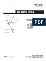 LE - Learning to Stick Weld