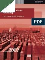Cargo Accumulation Modelling