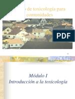 Clase 1 - Toxicologia