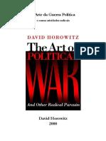A Arte da Guerra Política - David Horowitz.pdf