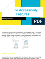 ipad accessibility features google slides