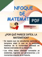 PPT_PERU Enfoque de La Matemática
