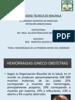 HEMORRAGIA-GINECO