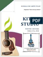 Manual - Pune Mana Pe Chitara - Vol 2 August 2016
