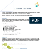 Tour Program User Guide