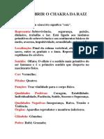 COMO ABRIR O CHAKRA DA RAIZ.docx