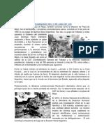 El Bombardeo Del 16 de Junio de 1955