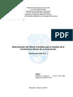106844575 Determinacion Del Alfa de Cronbach Para El Analisis de La Consistencia Interna de Un Instrumento