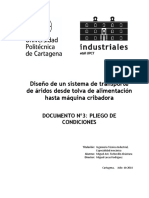 Documento Nº3 - Pliego de Condiciones