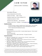 Maximiliano Curriculum