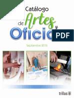 TRILLAS Catalogo Artes y Oficios Sept2016.pdf