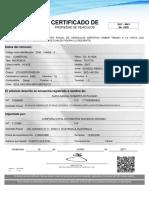 Certificado de Propiedad Electronico