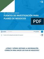 1. Fuentes de investigación para Planes de Negocios.pdf