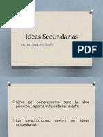 Exposicion - Ideas Secundarias
