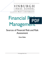 Financial Risk Management Course Taster