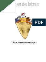 SOPAS DE LETRAS PARA PRIMERO.doc