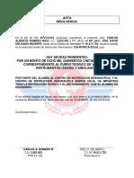 Acta de Insolvencia Administrativa