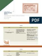 Temario de Alumnos de Edición de Libros 2017-2 PDF