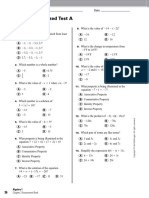Holt Algebra 1_Chapter 02_Standardized Test