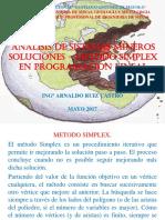 soluciones Metodo Simplex en Pl