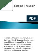 Rangkaian Thevenin