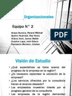 Informe Final - Estudio Organizacional Equipo 2