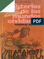 117040352 Berlitz Charles Misterios de Los Mundos Olvidados