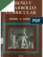 Diseño y desarrollo curricular Zabalza.pdf