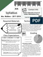 visual syllabus 2017-2018