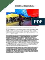 Ocaso y Resurrección de Venezuela