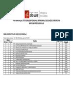Pós-Graduação Lato Sensu Em Pedagogia Empresarial e Educação Corporativa - Grade Ou Matriz Curricular