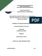"""CONCLUSIÓN DEL PROCESO TÉCNICO DE LA COLECCIÓN EN LA BIBLIOTECA PERSONAL DE """"ANTONIO CASTRO LEAL"""" EN LA BIBLIOTECA DE MÉXICO"""