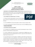 2015 Misto Edital ProGrad 16 Vestibular